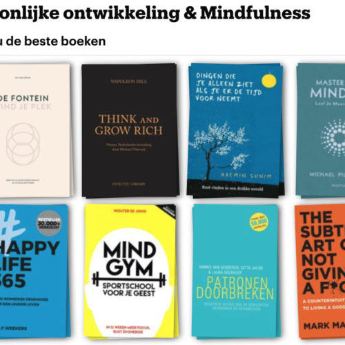 Populaire boeken bij Bol.com over persoonlijke ontwikkeling & mindfulness