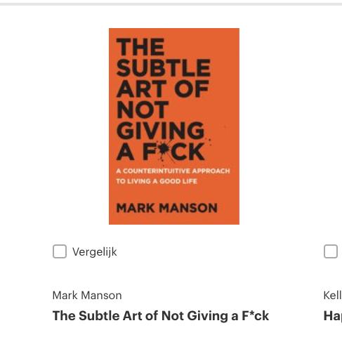 Populaire boeken bij bol.com over geluk!