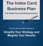 Brian Margolis The Index Card Business Plan For Sales Pros and Entrepreneurs Ebook How to Use the Pillar System to Simplify Your Strategy and Magnify Your Results