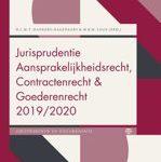 Diana Dankers-Hagenaars Marco Loos Boom Jurisprudentie en documentatie - Jurisprudentie Aansprakelijkheidsrecht, Contractenrecht en Goederenrecht 2019:2020