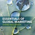 Hollensen Svend Essentials of Global Marketing