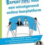 Experttips voor een winstgevend online leerplatform - Sandra De Milliano Experttips boekenserie