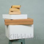 Verpakkingsdozen die gebruikt worden in webshops & E-commerce om hun spullen te versturen.