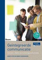 Marita Vos Henny Schoemaker Geïntegreerde communicatie Concern-, interne en marketingcommunicatie