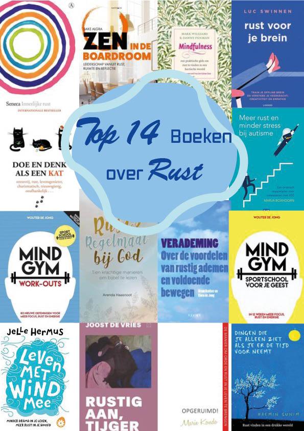top14 boekentips Hoe krijg je rust in je hoofd!