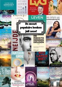 De populairste boeken juli 2020