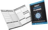 Structure Days Daily Growth Planner (4 Weken) - Sneller je doelen behalen - Planner - Productiviteit - Persoonlijke ontwikkeling - Meer Succes - Tool om beter overzicht te krijgen in je vooruitgang.