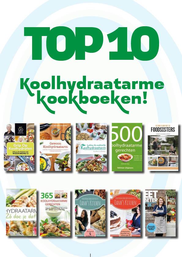 TOP10 Koolhydraatarme kookboeken