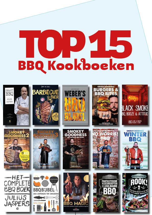 TOP15 BBQ Kookboeken