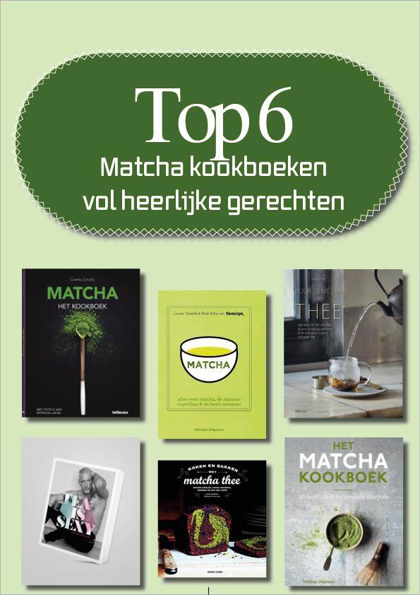 Top 6 Matcha kookboeken vol heerlijke gerechten
