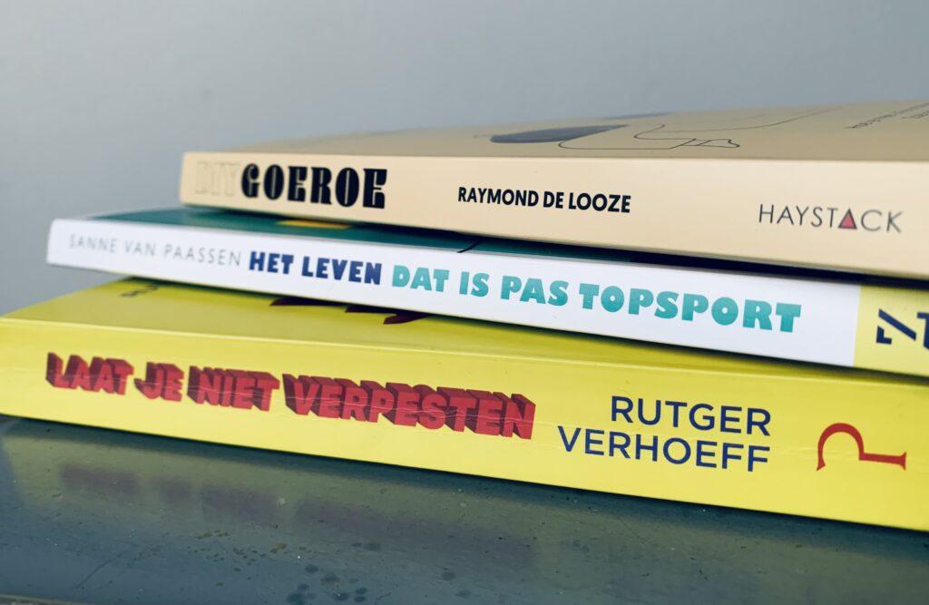 Boekenhonger, #rutgerverhoeff, #sannepaassen #Raymonddelooze