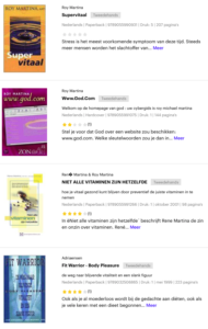 Boeken van Roy Martina bij bol.com
