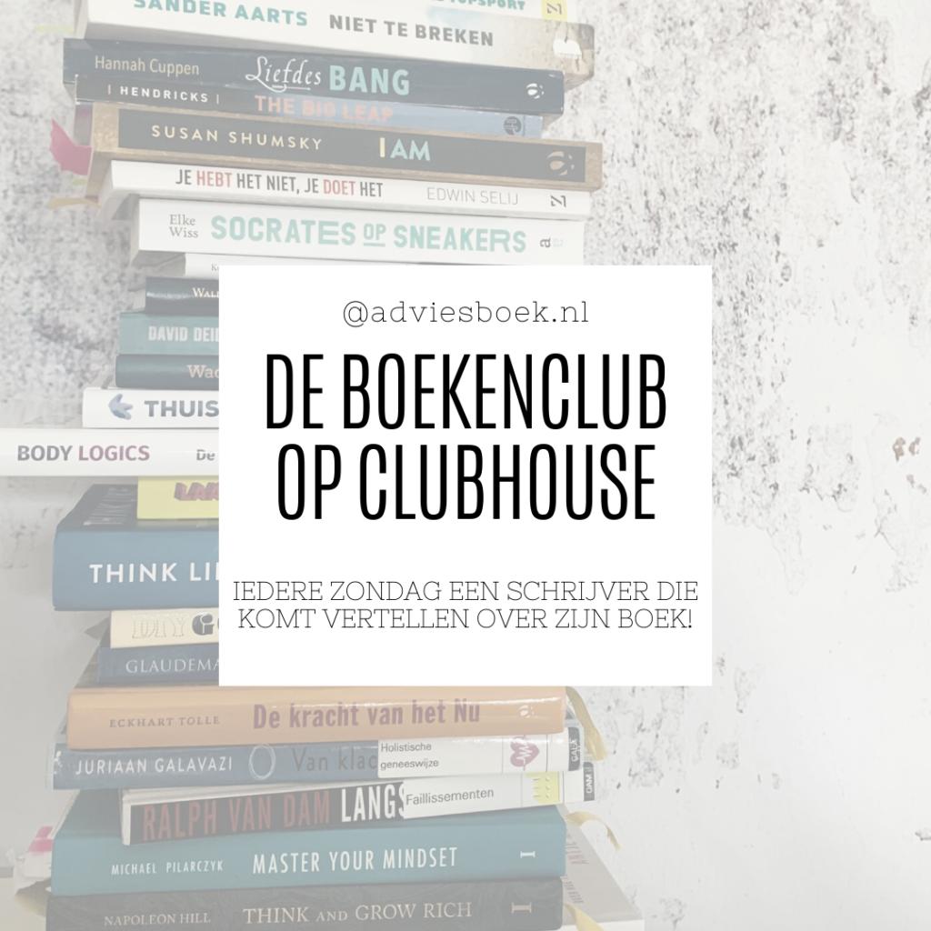 De boekenclub op Clubhouse