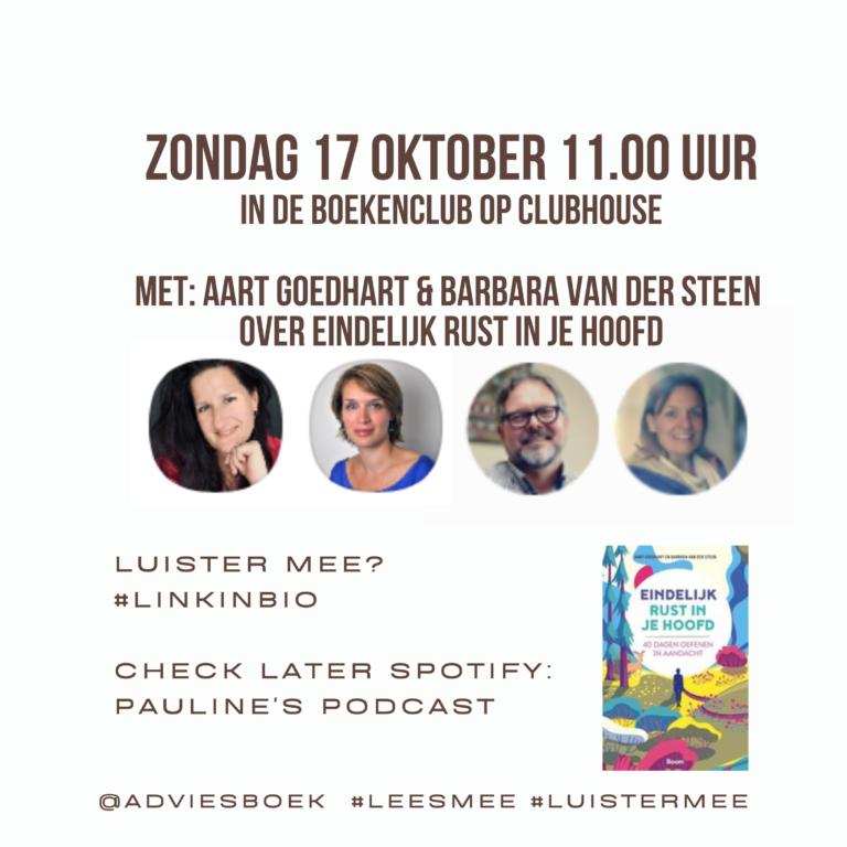 Podcast #23 Aart Goedhart & Barbara van der Steen